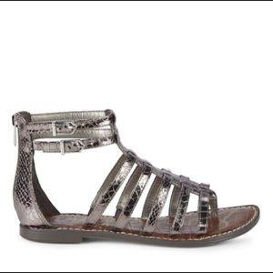 Sam Edelman Kendra Metalic Galdiator Sandals